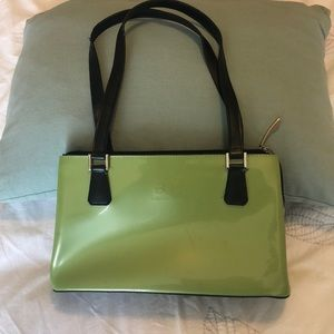 Light Olive Green Beijo Shoulder Bag